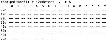 I2Cデバイスの識別できず